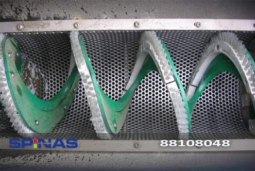 قابلیت های آشغالگیر مکانیکی اسکرو