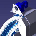 آشغالگیر مکانیکی SPIBELT از 3 مرحله به منظور تمیز سازی المان های فیلتر استفاده می شود